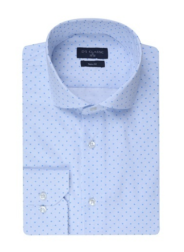 D'S Damat Gömlek Beyaz